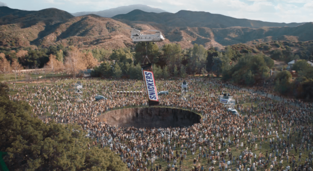 snickers fix the world ad